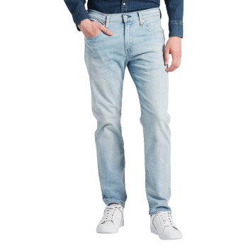 Levi's 502 Jeans, regular tapered, bleu clair, Green Eggs, devant