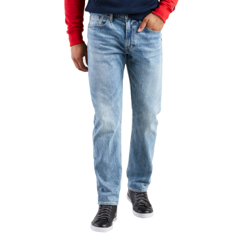 Levi's 502 Jeans, regular tapered, bleu clair, Kalsomine, devant