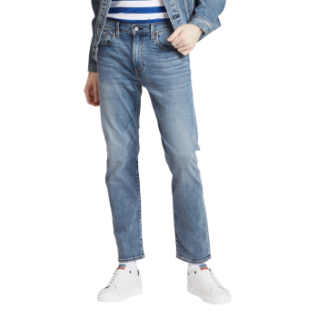 Levi's 502 Jeans Regular Tapered, Bleu moyen-clair, délavé, Baltic Adapt, Devant
