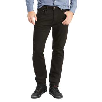 Levi's 502 Jeans Regular Taper, schwarz, Nightshine, Frontansicht