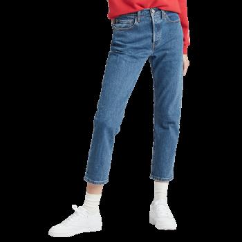 Levi's 501® Crop Jeans, bleu moyen, Jive Stonewash, devant