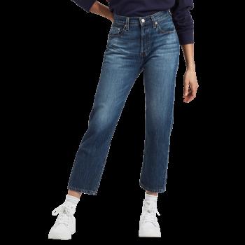 Levi's 501® Crop Jeans, blau verwaschen, Market Vintage, Frontansicht