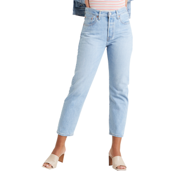 Levi's 501® Crop Jeans, Luxor Ra, Frontansicht