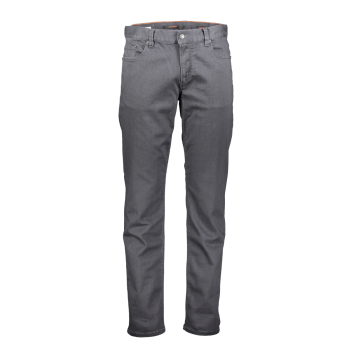 Alberto Jeans Pipe, regular slim fit, Anthracite, Devant