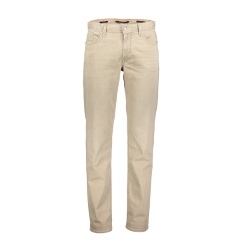 Alberto Jeans, regular slim fit, Beige, devant