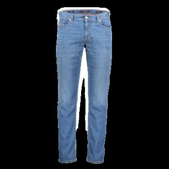 Alberto Jeans, regular slim fit, Light Blue, bleu clair, devant
