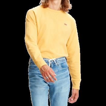 Levi's Rundhals Pullover, gelb, Golden Apricot, Frontansicht