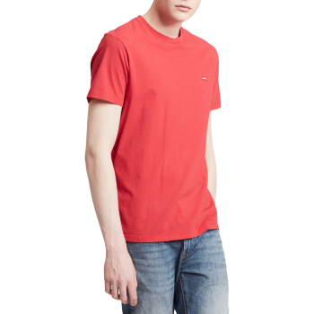 Levi's Original Housemark Tee, rot, Brilliant Red, Frontansicht