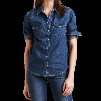 Levi's Jeanshemd, Standard Fit, blau, Livin' Large, Frontansicht