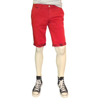 Alberto Short Lou, Red, Frontansicht