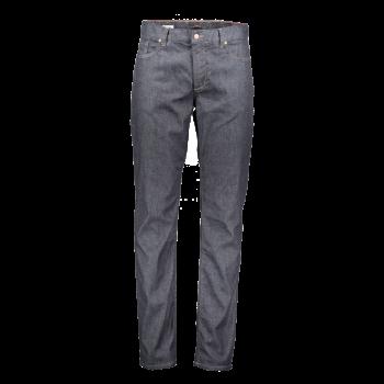 Alberto Jeans, regular slim fit, Navy, bleu foncé, devant