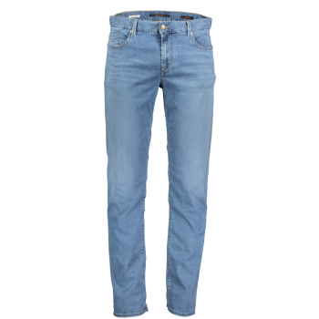Alberto Jeans Pipe, regular slim fit, Light Turquoise, Frontansicht