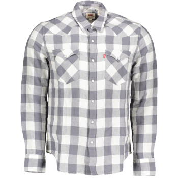 Levi's Barstow Western Shirt Standard Fit, Grey, Frontansicht