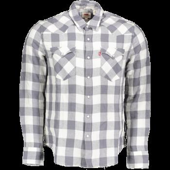 Levi's Barstow Western Shirt Standard Fit, Grey, devant