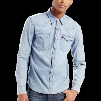 Chemise en Jeans Levi's Red Cast, bleu clair, Stone, Slim Fit, devant