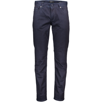 Alberto Jeans, regular slim fit, dunkelblau, onewash, Frontansicht