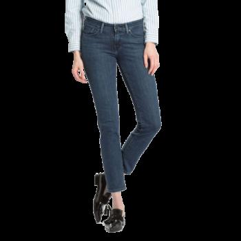 Levi's 712 Jeans Slim, bleu foncé delavé, Best Coast, devant
