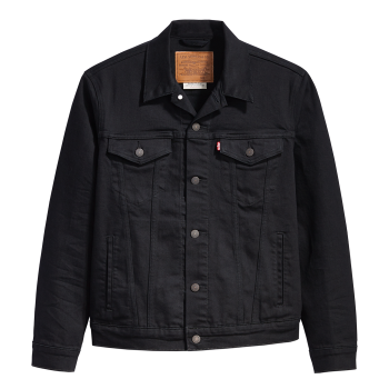 Levi's Jeansjacke Trucker Standard Fit, Black