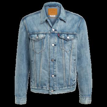 Levi's Jeansjacke Trucker Standard Fit, hellblau verwaschen, Killebrew, Frontansicht
