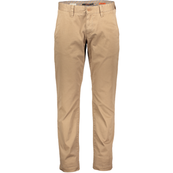 Alberto Chino Hose Lou, regular slim fit, beige, Frontansicht