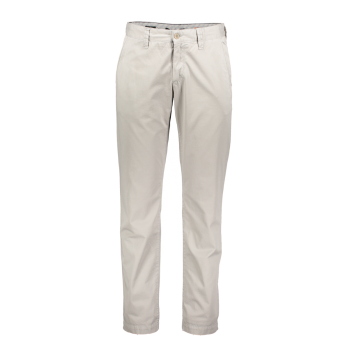 Alberto Chino Hose Lou, regular slim fit, gris clair, kitt, devant