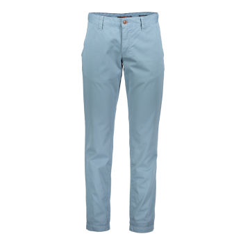 Alberto Chino Hose Lou, regular slim fit, Oceano, bleu clair, devant