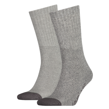 Levi's 2 Pack Socks 120 sf Regular Cut, grau, Mid Grey