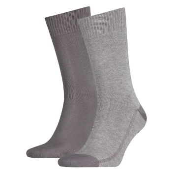 Levi's 2 Pack Socks 168 sf Regular Cut, grau,  Mid Grey