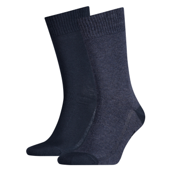 Levi's 2 Pack Socks 168 sf Regular Cut, Dark Denim