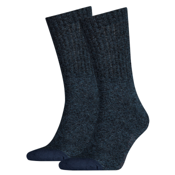 Levi's 2 Pack Socks 120 sf Regular Cut, Dark Denim