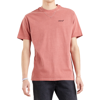 Levi's Made & Crafted Loose Tee Shirt, Marsala, devant