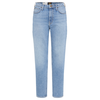 Lee Carol Cropped Jeans Straight, Mid Soho, Frontansicht