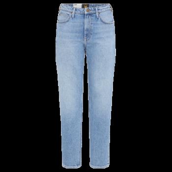 Lee Carol Cropped Jeans Straight, Mid Soho, devant