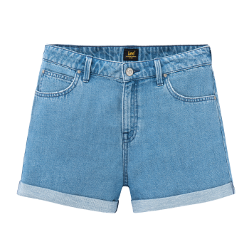 Lee Relaxed Short, Light Stockton, mittelblau, Frontansicht