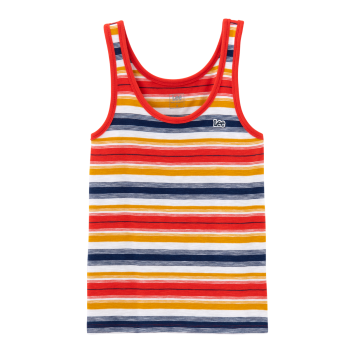 Lee Slim Tank Top, Poppy Red, Frontansicht