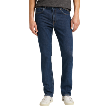 Lee Brooklyn Stretch Jeans, New Rinse, Frontansicht