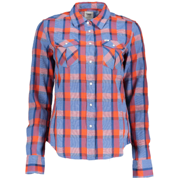 Levi's Ultimate Boyfriend Shirt, mittelblau, Medium Authentic Wash, Frontansicht