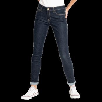Lee Scarlett Jeans skinny, dunkelblau, Rinse, Frontansicht