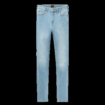 Lee Scarlett Jeans skinny, hellblau, Light Florin, Frontansicht
