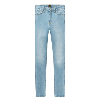 Lee Scarlett Jeans skinny, bleu clair, Light Florin, devant