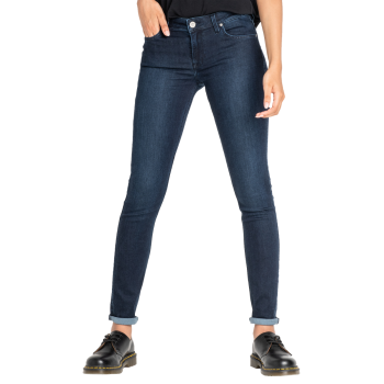 Lee Scarlett Jeans skinny, bleu foncé, Clean Wheaton, devant
