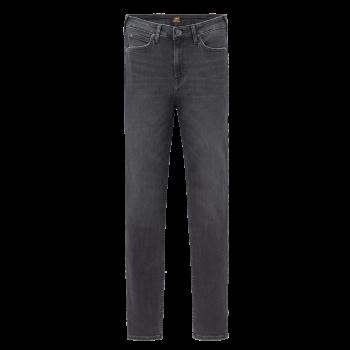 Lee Scarlett Jeans skinny, gris foncé, Black Washed, devant