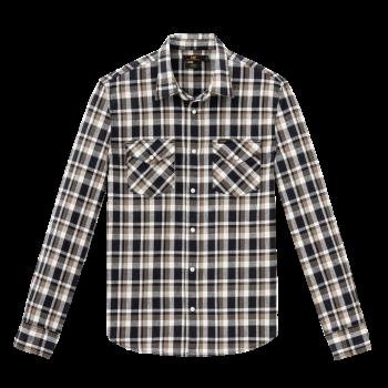 Lee Western Shirt Slim Fit, Olive, devant