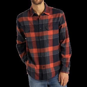 Lee Worker Shirt, Burnt Ocra, devant