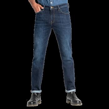 Lee Daren Jeans Slim, mittelblau verwaschen, Dark Pool, Frontansicht