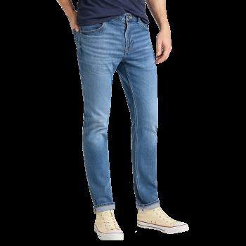 Lee Daren Jeans Slim, dunkelgrau, Moto Worn In, Frontansicht