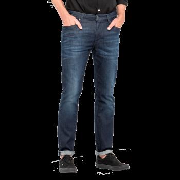 Lee Rider Jeans Slim, dunkelblau verwaschen, Tinted Blue, Frontansicht