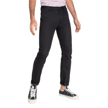 Lee Rider Jeans Slim, noir, Black, devant
