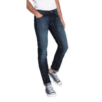Lee Daren Jeans, bleu délavé, Strong Hand, devant