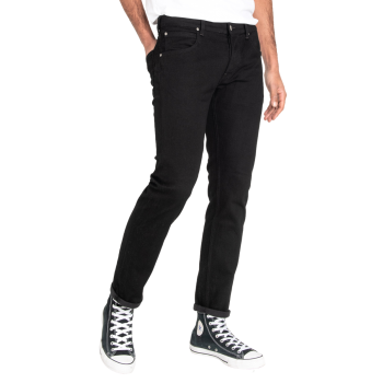 Lee Daren Jeans, schwarz, Clean Black, Frontansicht